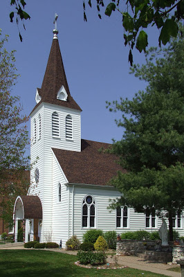 A photo of the exterior of Saint Theodore Roman Catholic Church